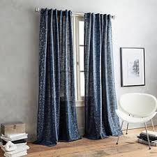 Dkny Curtain Panels Uk by Willow Print Pinch Pleat Sheer Window Curtain Panel Window