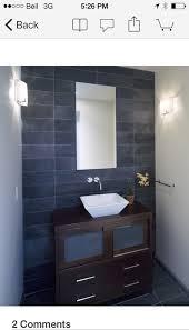 small bathroom big tiles