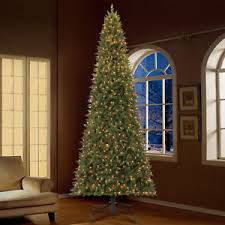 NEW Holiday Time 12ft Pre Lit Williams Pine Artificial Christmas Tree 1100 Clear