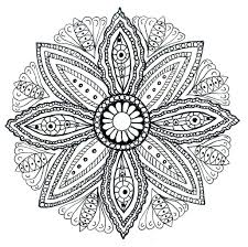 Free Printable Mandala Color Pages Coloring Adults Pictures Christmas Designs To Full Size