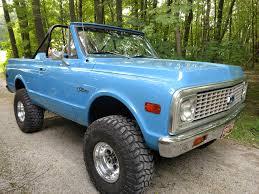 100 Blazer Truck 1971 Chevy K5 Nate G LMC Life