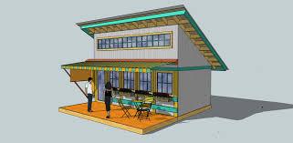 12x16 Slant Roof Shed Plans by Shed Design Google Sketchup Pto