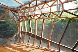 100 Architects Wings Dragonfly Pavilion A Garden Shed Inspired By The Of