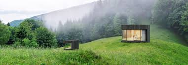 100 Minimalist Cabins Round Minimalist Cabins With Sliding Glass Walls Take Glamping Up A