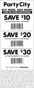 Party City 30 Off Coupon - Genesis Discount