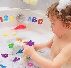trifycore bad accessoires ungiftiger schaumbad spielzeug und kinder bildungs badezimmer alphabet spielzeug 36pcs