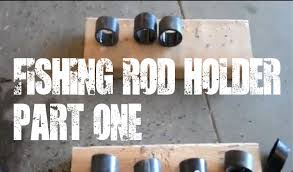 fishing rod holder video 1 easy solution for hanging fishing