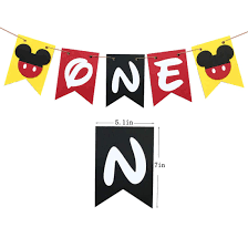 Mickey Mouse First Birthday Banner Handmade 1st Birthday Party Decorations  High Chair Banner,Mickey Mouse Baby Boy Photo Booth Props Minnie Mouse Room Diy Decor Hlights Along The Way Amazoncom Disneys Mickey First Birthday Highchair High Chair Banner Modern Decoration How To Make A With Free Img_3670 Harlans First Birthday In 2019 Mouse Inspired Party Supplies Sweet Pea Parties Table Balloon Arch Beautiful Decor Piece For Parties Decorating Kit Baby 1st Disney