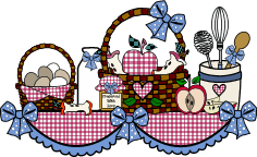 Country Kitchen Cooking Graphics And Clip Art Collection