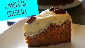 Carrot Cake Cheesecake Fall Recipes La Cooquette