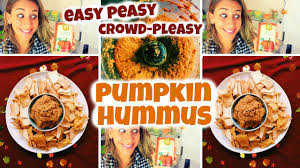 Pumpkin Hummus Recipe Without Tahini by Pumpkin Hummus Youtube