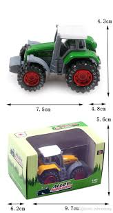 100 Toy Grain Trucks 2019 Alloy Car Model S Mini Farm Tractor Boys Favorate