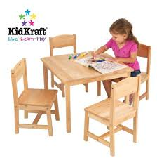 Walmart Canada Lap Desk by Farmhouse Table And Four Chair Set Natural For Sale At Walmart