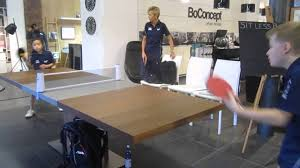 Bari Extendable Dining Table In BoConcept Sydney Redbrick Mill Yorkshire With Tennis