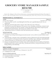 Sample Resume For Cashier Position With No Experience Examples A Description Grocery Store Sup