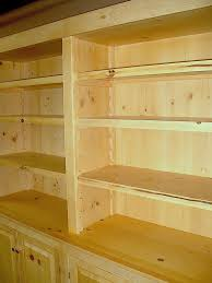 woodworking plans knotty pine bookcases pdf plans