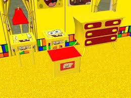 Spongebob Bedroom Set by Mod The Sims Complete Spongebob Bedroom Set