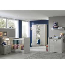 chambre bebe lit evolutif bébé complète avec lit évolutif coloris chêne blanc