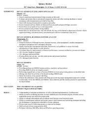 Download Retail Lending Resume Sample As Image File