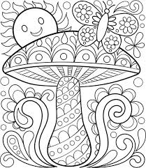 Free Coloring Calendar Toadstool Page By Thaneeya