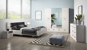 schlafzimmer komplett set a 4 teilig farbe weiß kiefer