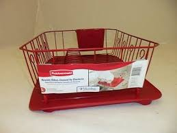 Rubbermaid Sink Mats Red by Red For Your Kitchen Collection On Ebay
