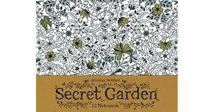 Secret Garden 12 Notecards By NOT A BOOK