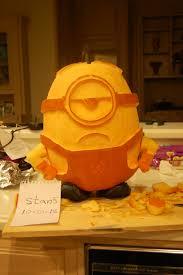 Pumpkin Carving Stencils Minion by Minion O Lantern Contest Entry Pumpkins