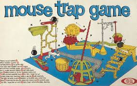 Box Front For The 1963 Mouse Trap Game