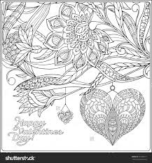 Valentines Day Coloring Pages For Adults Book Of In Valentine