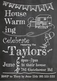 House And Banner On Chalkboard