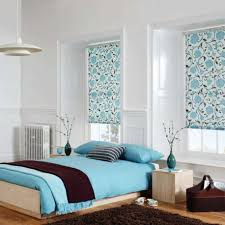 Brown And Blue Bedding by Blue Bedroom Idea With Comfortable Space Design Amaza Design