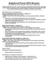 Licensed Practical Nurse LPN Resume Sample Writing Tips