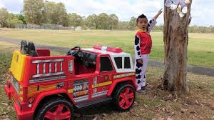 Paw Patrol Marshall NEW Fire Engine Ride On Rescue Cali From Tree ... Fire Truck Electric Toy Car Yellow Kids Ride On Cars In 22 On Trucks For Your Little Hero Notes Traditional Wooden Fire Engine Ride Truck Children And Toddlers Eurotrike Tandem Trike Sales Schylling Metal Speedster Rideon Welcome To Characteronlinecouk Fireman Sam Toys Vehicle Pedal Classic Style Outdoor Firetruck Engine Steel St Albans Hertfordshire Gumtree Thomas Playtime Driving Power Wheel Truck Toys With Dodge Ram 3500 Detachable Water Gun