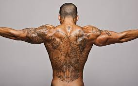 Tribal Tattoo Best Design Man Back