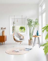 100 Mid Century Modern Interior All White Filled With Furniture