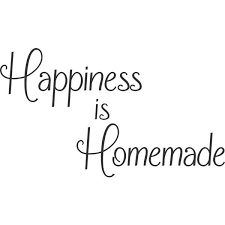 Nice For The Home Happiness Is Homemade Kitchen Vinyl Wall Decal Decor