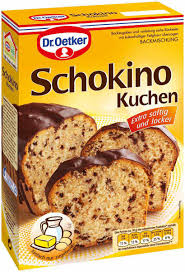 dr oetker schokino kuchen bachmischung 480g saymo de lebensmittel kaufen ihr lebensmittel shop