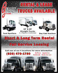Leasing   Quality Truck Care Center Wisconsin Uber Freight Schedules Loads For Truck Drivers In Six More States Box Truck Straight Trucks For Sale On Cmialucktradercom Ftl Full Load Safe Guard Spedition Volume 11 Issue 6 Trucks Is Here Heres How It Will Work Recode Trucking Industry The United States Wikipedia Hshot Trucking Pros Cons Of Smalltruck Niche Tank Services Sutton Transport Inc Reefer Vs Flatbed Dry Van Page 1 Ckingtruth Forum The Future Uberatg Medium Semi Loads