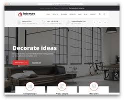 100 Home Design Ideas Website 27 Best Responsive Interior Templates 2019