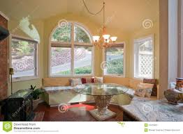 Kitchen Bay Window Over Sink by Luxury Kitchen Nook With Bay Window Stock Image Image 13475821