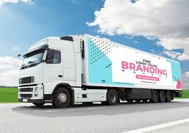 100 Free Truck Lorry Branding Mockup For Advertisement 2018 On