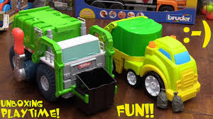 100 Tonka Strong Arm Garbage Truck Toy Channel Toy S For Toddlers My First And
