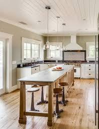Kitchen Decorating Ideas Pinterest by Best 25 Narrow Kitchen Island Ideas On Pinterest Small Island