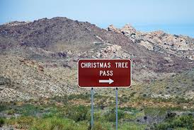 The Route Across Christmas Tree Pass Starts About 6 Miles West Of Laughlin Nevada