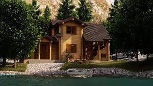 100 House In Forest ArtStation Wooden In Erdem Demir