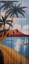 Bamboo Beaded Door Curtains Australia by Mona Lisa Beaded Curtain 125 Strands Hanging Hardware By