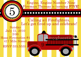 Free Printable Fire Truck Birthday Invitations | FREE Invitation ...