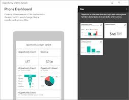 view dashboards and reports in the power bi mobile apps power bi