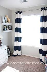 Yellow And White Curtains For Nursery by Best 25 Stripe Curtains Ideas On Pinterest Neutral Home